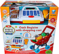 Тележка игрушечная Maya Toys Мини-маркет / 66060 -