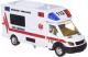 Автомобиль игрушечный Big Motors Скорая помощь / JL81022 -