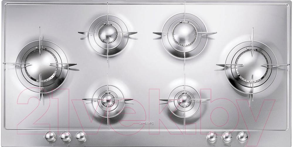 Купить Газовая варочная панель Smeg, P106ES, Италия