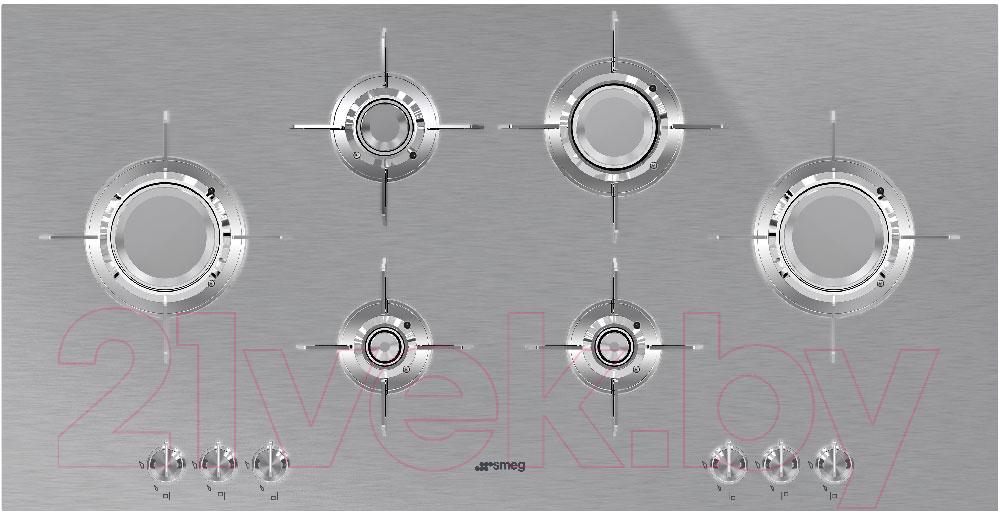 Купить Газовая варочная панель Smeg, PXL6106, Италия