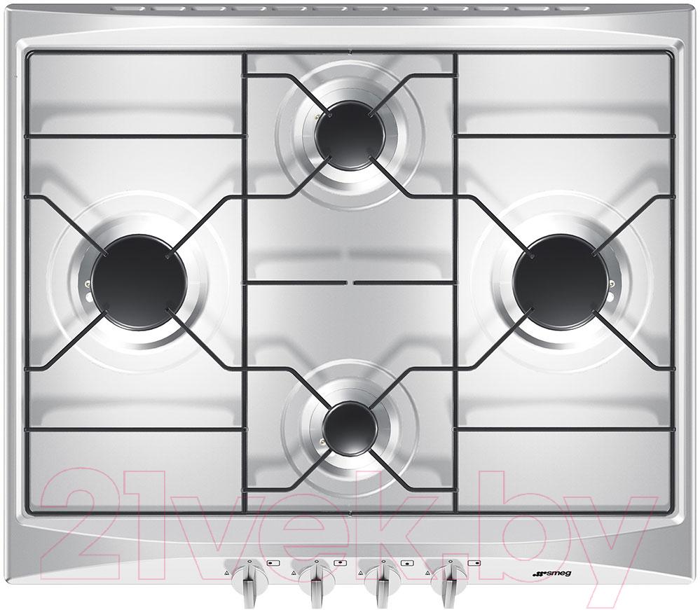Купить Газовая варочная панель Smeg, S264X, Италия