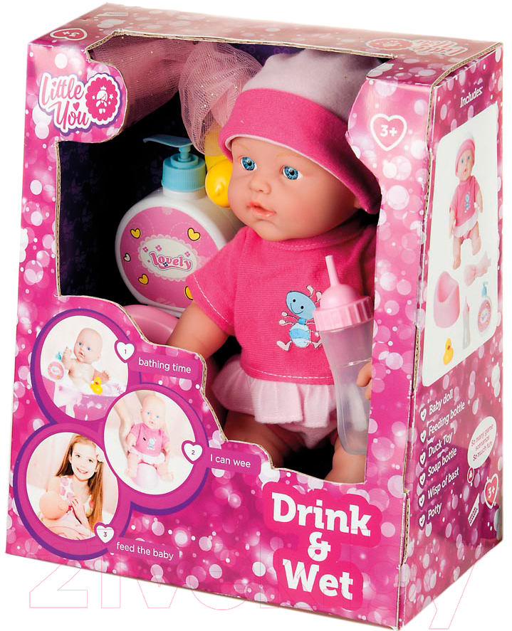 Купить Кукла с аксессуарами Little You, Мой любимый малыш / 1308A-1, Китай, пластик