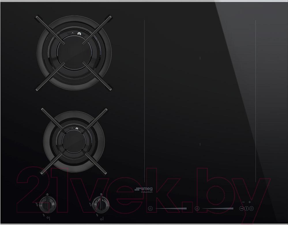 Купить Комбинированная варочная панель Smeg, PM6621WLDX, Италия