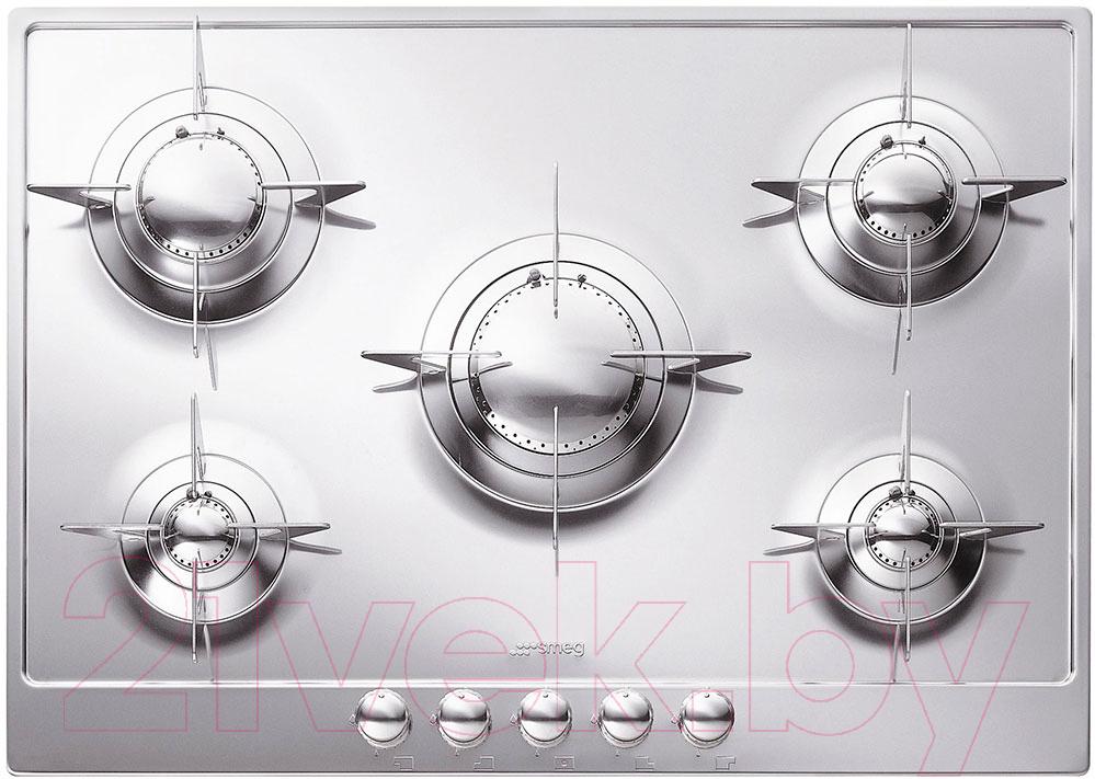 Купить Газовая варочная панель Smeg, P705ES, Италия