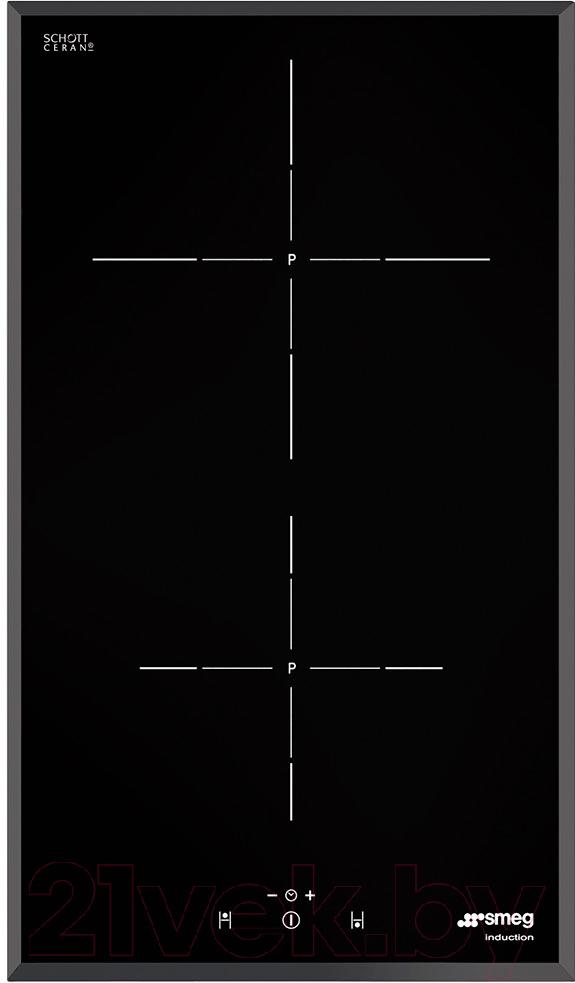 Купить Индукционная варочная панель Smeg, SI5322B, Италия