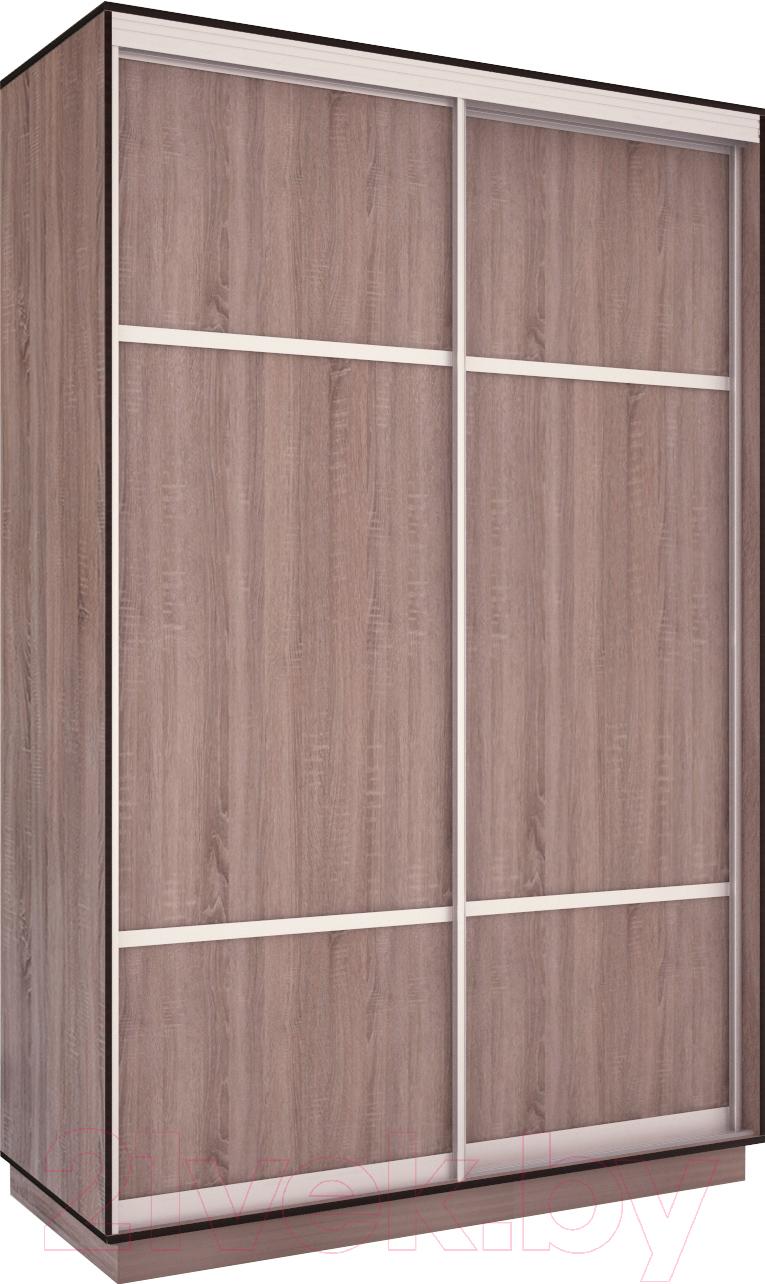Купить Шкаф Евва, 120 TS.03 / АЭП ШК.2 03 (трюфель/серебро), Беларусь