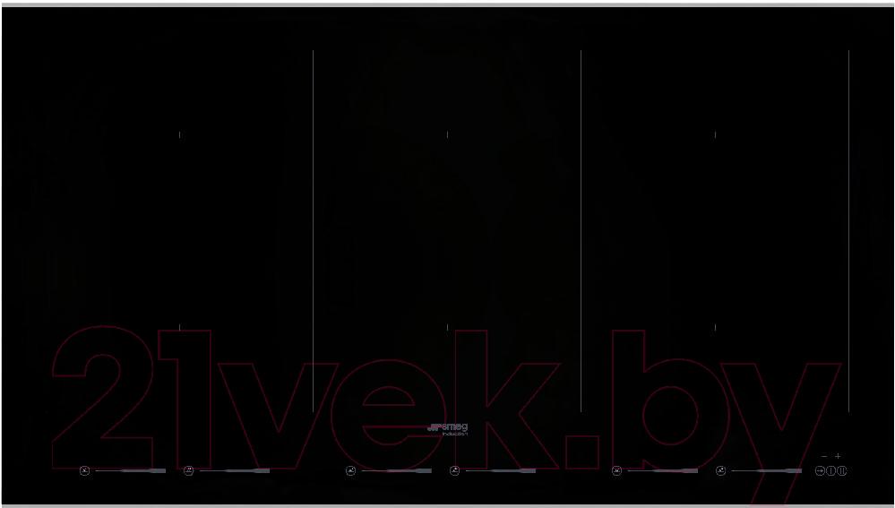 Купить Индукционная варочная панель Smeg, SIM693WLDX, Италия