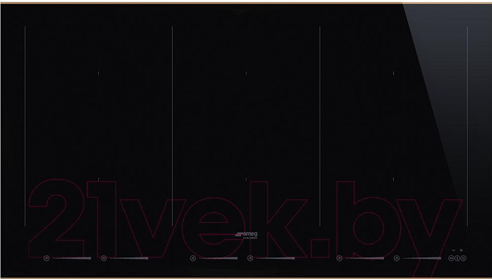 Купить Индукционная варочная панель Smeg, SIM693WLDR, Италия