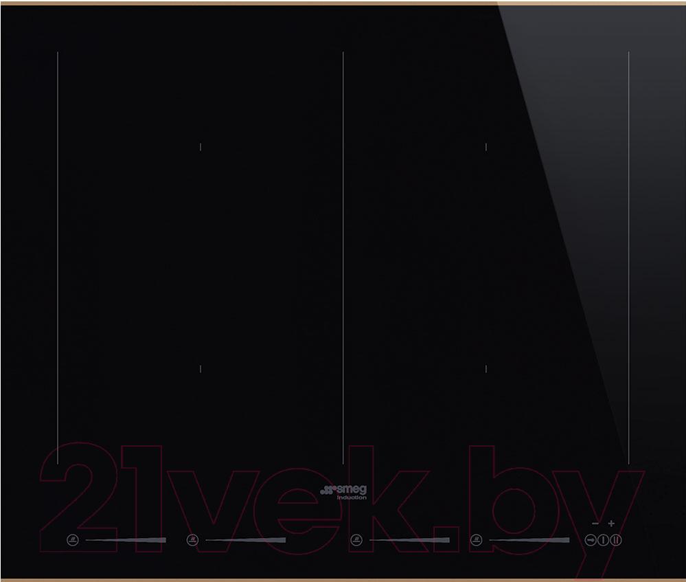 Купить Индукционная варочная панель Smeg, SIM662WLDR, Италия