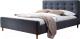 Двуспальная кровать Signal Pinko 160x200 (серый) -