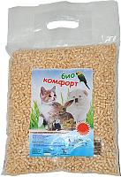 Наполнитель для туалета BioComfort Древесный (30л) -
