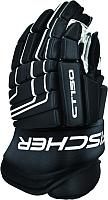 Перчатки хоккейные Fischer CT150 (р-р 13, черный) -