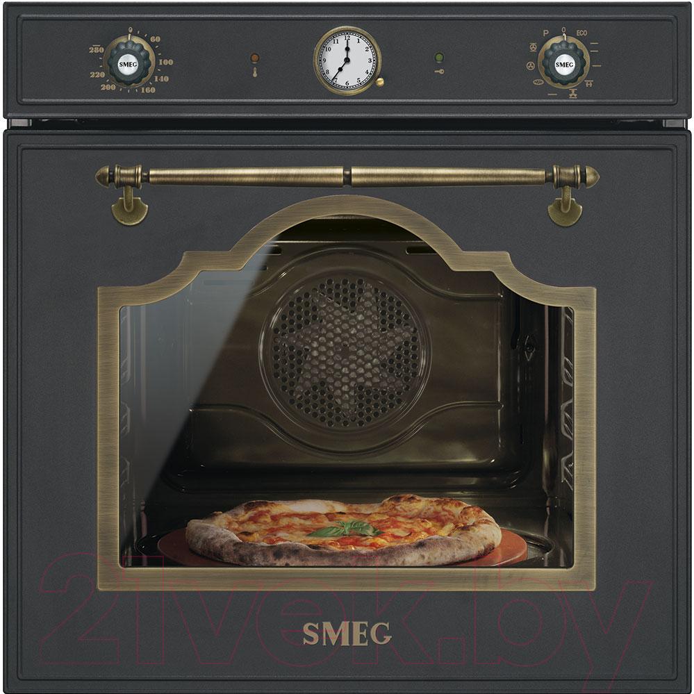 Купить Электрический духовой шкаф Smeg, SFP750AOPZ, Италия