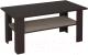 Журнальный столик Интерлиния Коламбия КЛ-15 (дуб венге/дуб серый) -