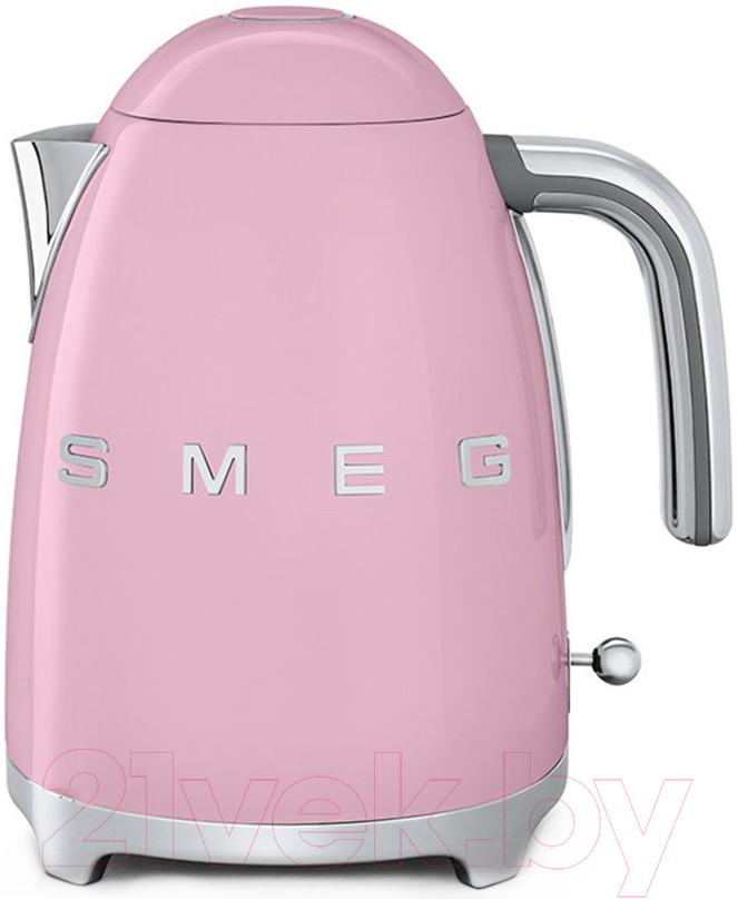 Купить Электрочайник Smeg, KLF03PKEU, Китай, розовый