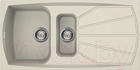 Купить Мойка кухонная Smeg, LSE1015P-2, Италия