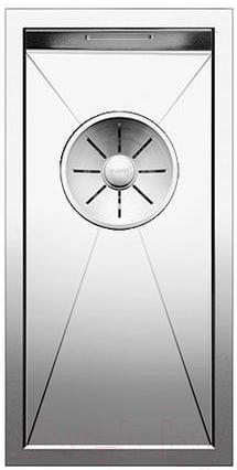Купить Мойка кухонная Blanco, Zerox 180-U / 521567 (зеркальная полировка), Германия, нержавеющая сталь