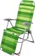 Складной шезлонг Ника К3 (зеленый) -
