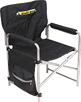 Кресло складное Ника С карманами 1 / КС1 (черный) -