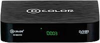 ТВ-тюнер/ресивер D-Color DC802HD -