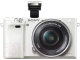 Беззеркальный фотоаппарат Sony Alpha A6000 Kit 16-50mm / ILCE-6000LW (белый) -