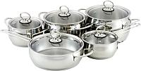 Набор кухонной посуды Кухар Магнолия Классика КМ1-035С -