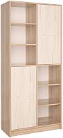 Шкаф Интерлиния СК-022 (дуб сонома/дуб белый) -