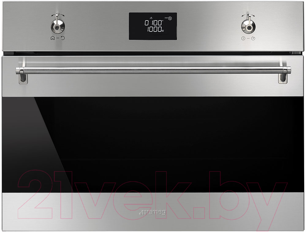 Купить Электрический духовой шкаф Smeg, SF4390MCX, Италия