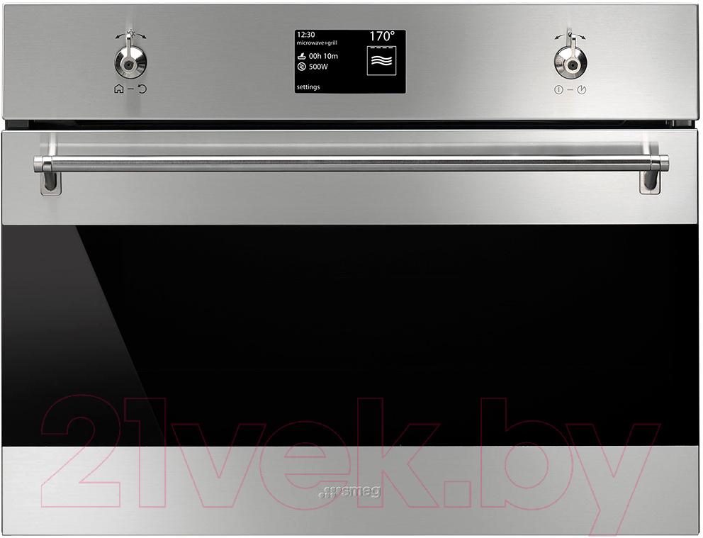 Купить Электрический духовой шкаф Smeg, SF4395MCX, Италия