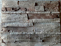 Декоративный камень Baastone Вайсхорн светло-бежевый, коричневый 101 (490x95x10-25) -
