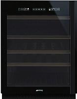 Встраиваемый винный шкаф Smeg CVI638NS -
