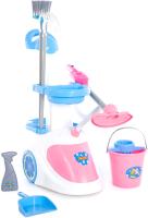 Набор хозяйственный игрушечный Полесье Помощница-5 с пылесосом / 59314 (в коробке) -