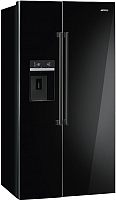 Холодильник с морозильником Smeg SBS63NED -