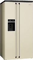 Холодильник с морозильником Smeg SBS963P -