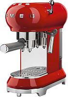Кофеварка эспрессо Smeg ECF01RDEU -