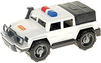 Автомобиль игрушечный Полесье Джип патрульный Защитник №1 / 63601 -
