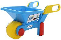 Тачка игрушечная Полесье Смурфики №2 / 64455 -