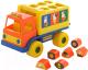 Развивающая игрушка Полесье Логический грузовичок Миффи с 6 кубиками №2 / 64400 -