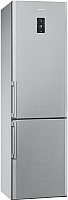 Холодильник с морозильником Smeg FC400X2PE -