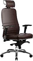 Кресло офисное Metta Samurai KL-3.02 (коричневый) -
