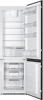 Встраиваемый холодильник Smeg C7280NEP -