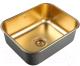 Мойка кухонная ZorG SZR-5343 (бронза) -