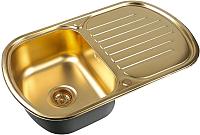 Мойка кухонная ZorG SZR-7749 (бронза) -