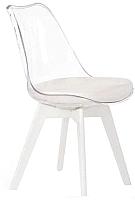 Стул Halmar K245 (белый/бесцветный) -