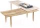 Журнальный столик Halmar Bora-Bora 120-200x50 (натуральный) -