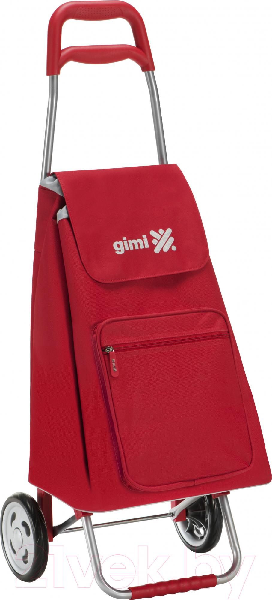 Купить Сумка-тележка Gimi, Argo GM117 (красный), Китай, пластик