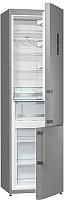 Холодильник с морозильником Gorenje NRK6201MX -