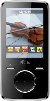 MP3-плеер Ritmix RF-7650 (8Gb, черный) - общий вид
