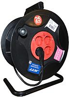 Удлинитель на катушке JETT ПВС 3x1.5 с заземлением (40м, 4 гнезда) -