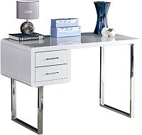 Письменный стол Halmar B30 (белый/хром) -